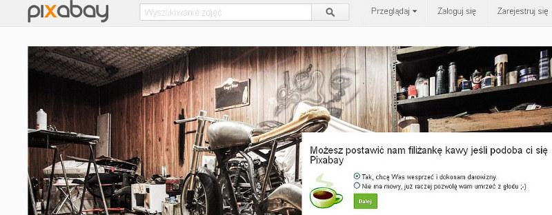 Pixabay darmowa galeria zdjęć na bloga
