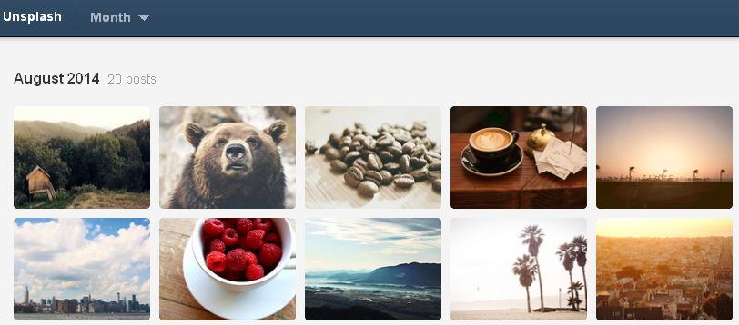 Unsplash darmowe zdjęcia w dobrej jakości na bloga